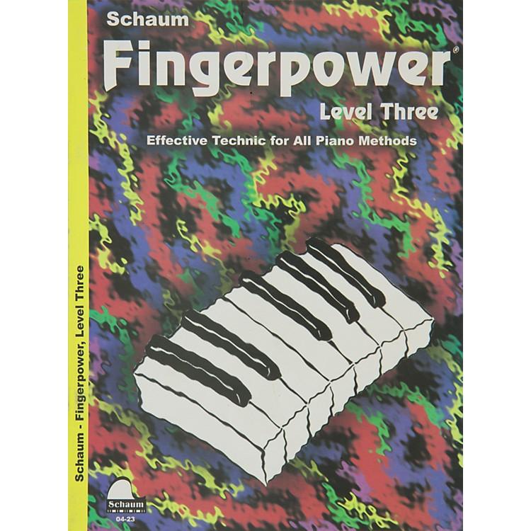 Hal LeonardFingerpower Book Level 3