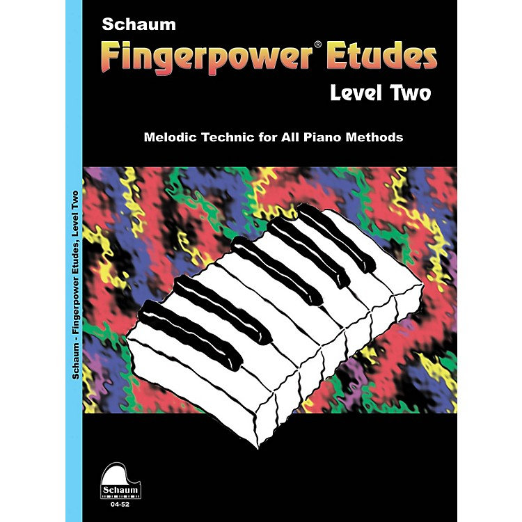 SCHAUM Fingerpower Etudes Lev 2 Educational Piano Series Softcover