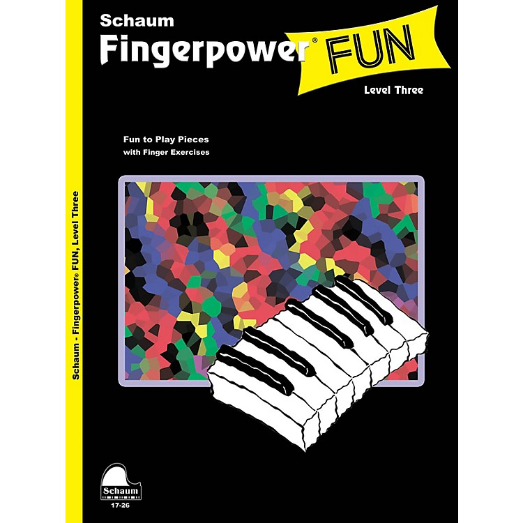 SCHAUM Fingerpower® Fun (Level 3 Early Inter Level) Educational Piano Book