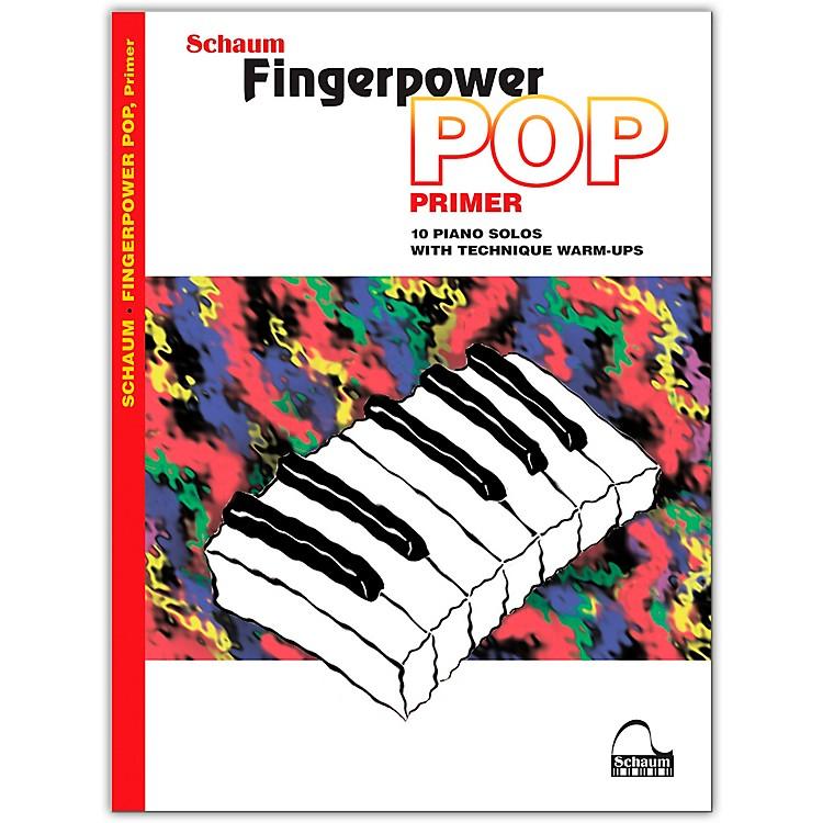 SCHAUMFingerpower Pop - Primer 10 Piano Solos with Technique Warm-Ups