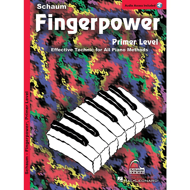 SCHAUM Fingerpower (Primer Book/CD Pack) Educational Piano Series Softcover with CD Written by John W. Schaum