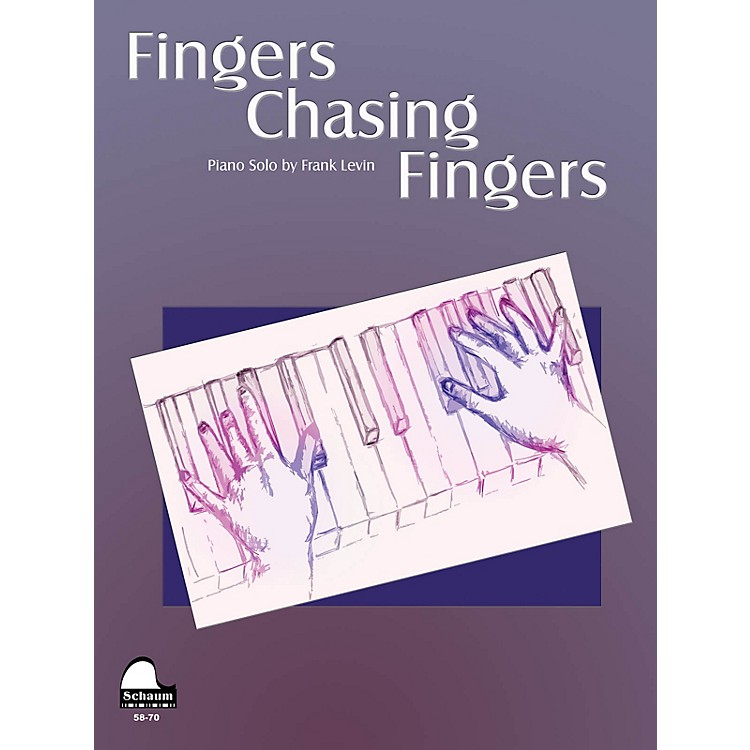 SCHAUMFingers Chasing Fingers Educational Piano Series Softcover