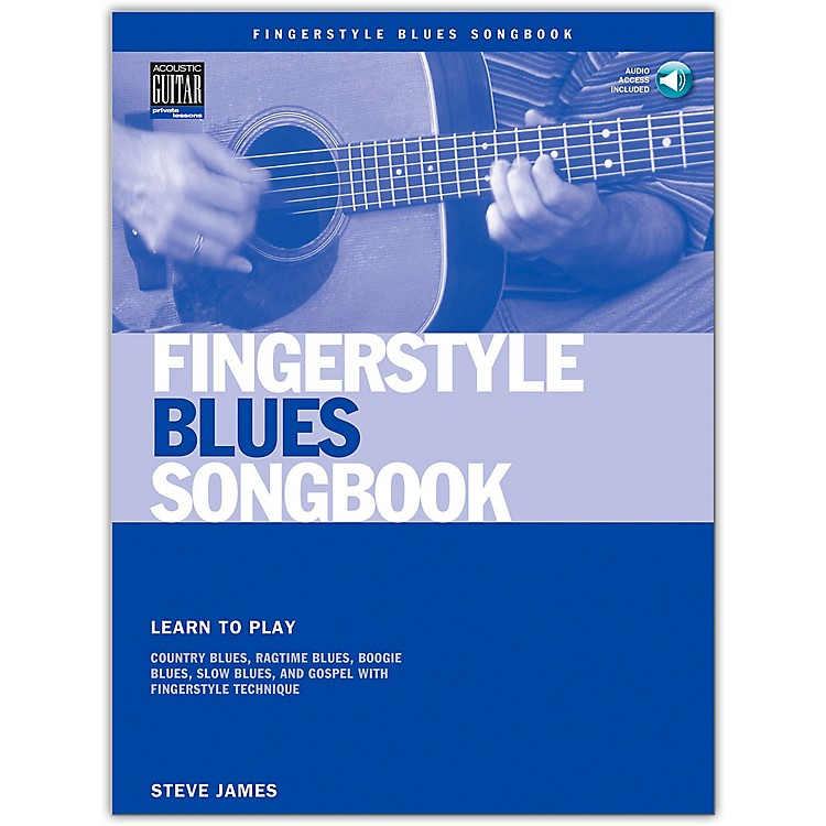 Hal Leonard Fingerstyle Blues Songbook (Book/Online Audio)