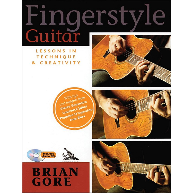 Backbeat BooksFingerstyle Guitar Lessons In Technique And Creativity Book/CD