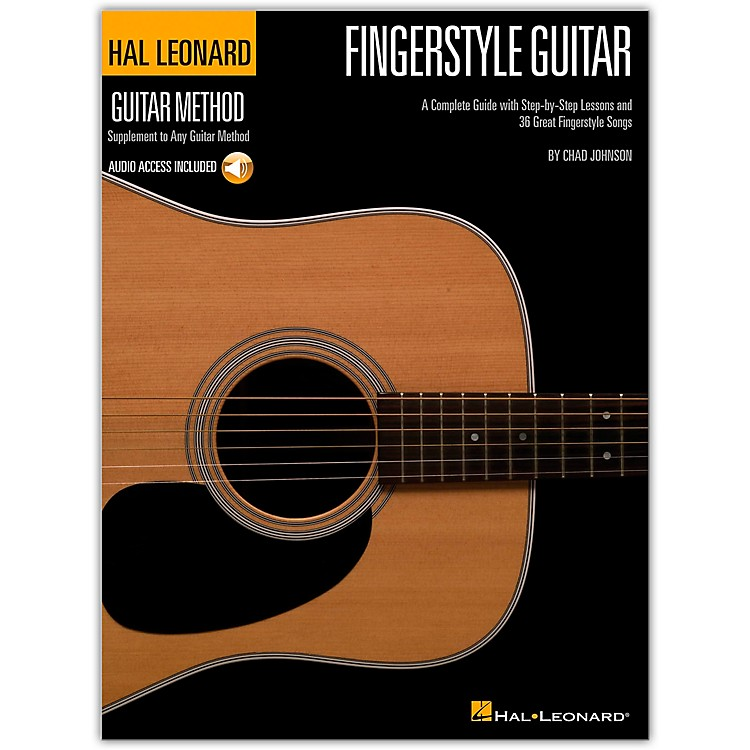Hal Leonard Fingerstyle Guitar Method - Stylistic Supplement To The Hal Leonard Guitar Method (Book/Online Audio)