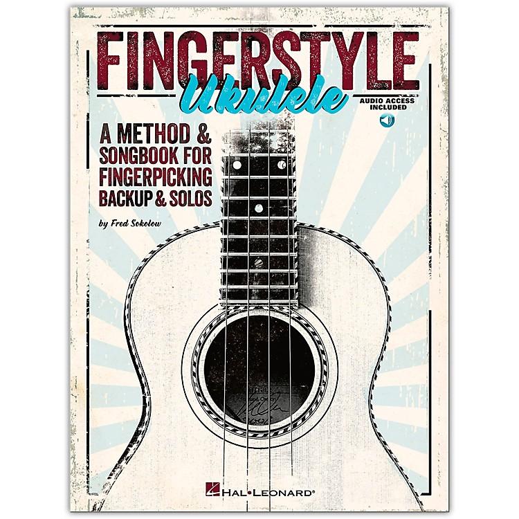 Hal LeonardFingerstyle Ukulele - A Method & Songbook For Fingerpicking Backup & Solos Book/CD