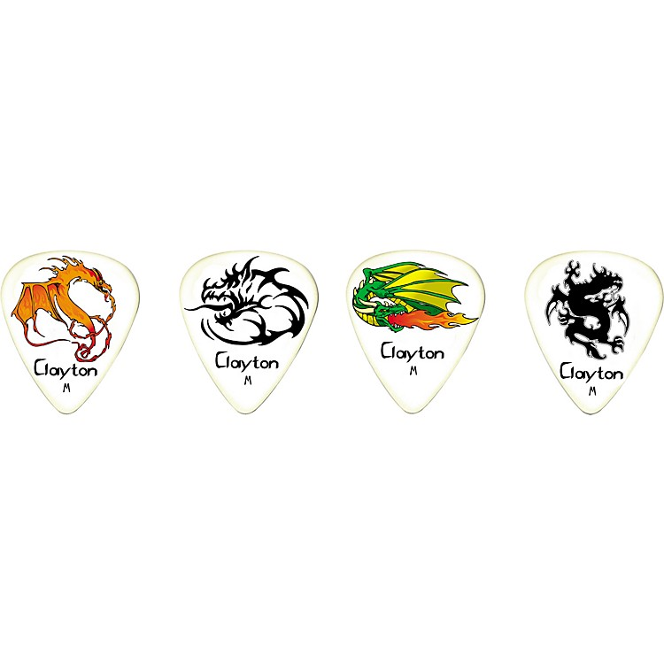 ClaytonFire Breathers Standard Guitar Picks 1 Dozen