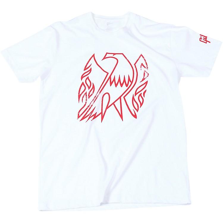 GibsonFirebird Vintage White T-ShirtSmallWhite