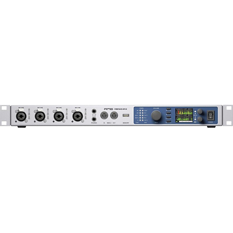 RME Fireface UFX II USB 2.0 Audio Interface