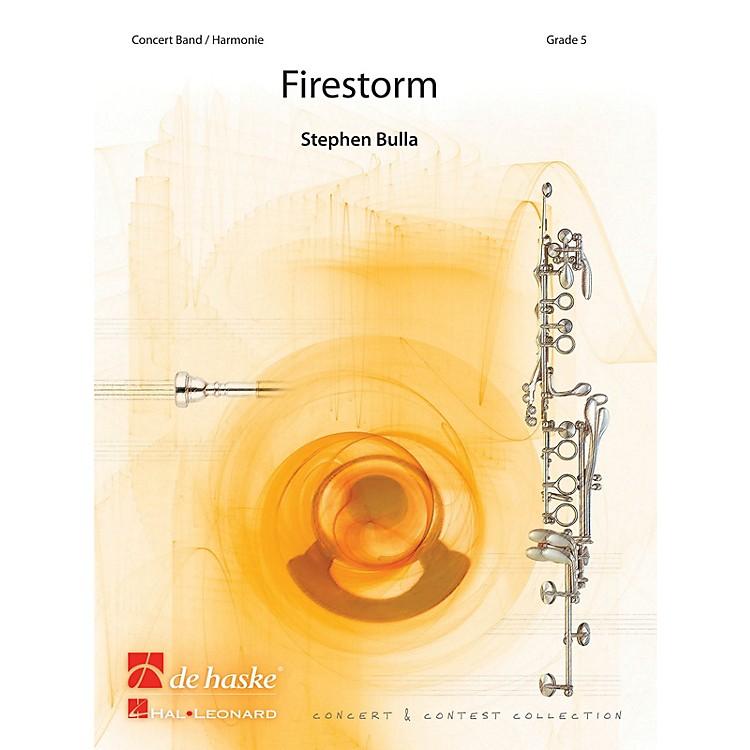 De Haske MusicFirestorm (Score and Parts) Concert Band Composed by Stephen Bulla