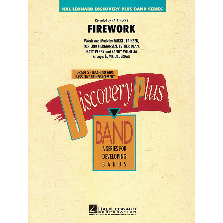 Hal Leonard Firework - Discovery Plus Band Level 2 arranged by Michael Brown