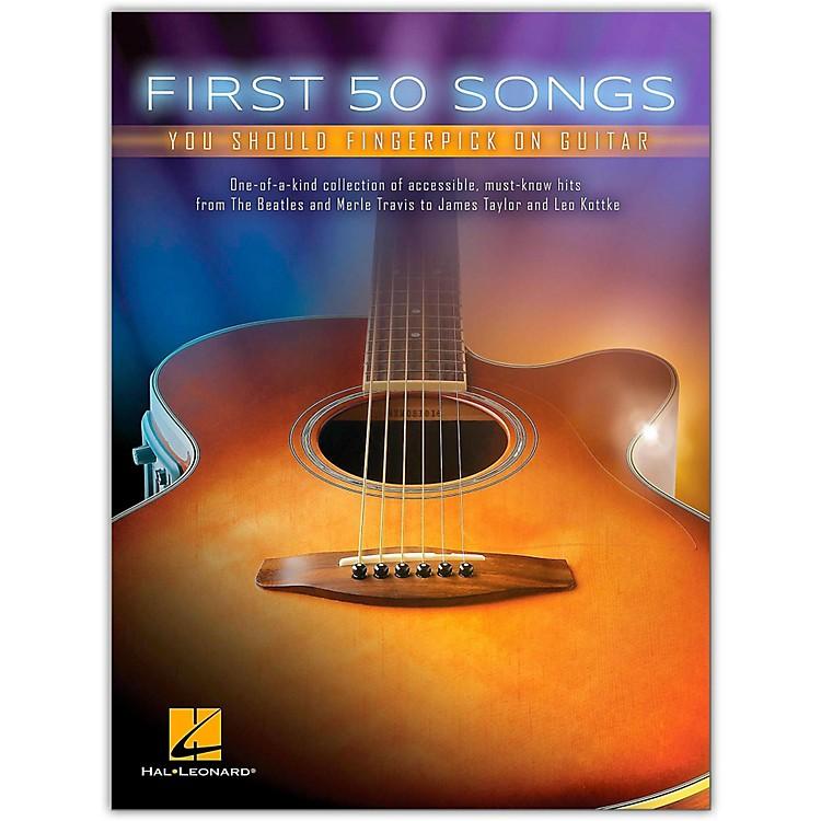 Hal LeonardFirst 50 Songs You Should Fingerpick on Guitar