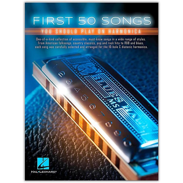 Hal LeonardFirst 50 Songs You Should Play on Harmonica