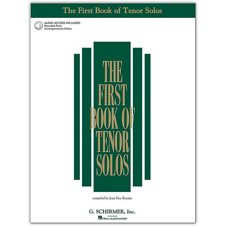 G. SchirmerFirst Book/Online Audio Of Tenor Solos Book/Online Audio