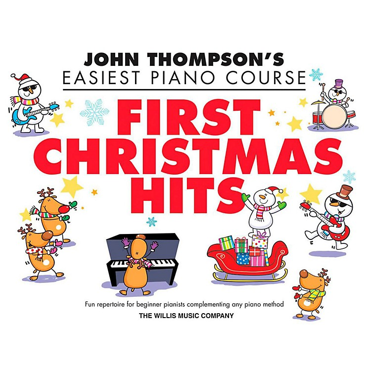 Hal LeonardFirst Christmas Hits - Thompson's Easiest Piano Course (Early To Mid-Elementary)
