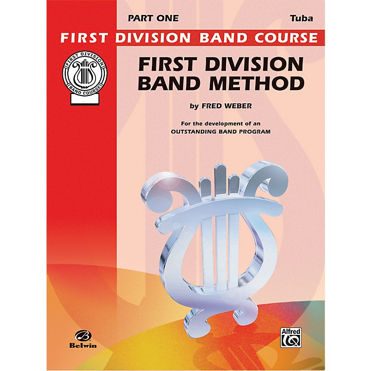 AlfredFirst Division Band Method Part 1 Bass (Tuba)