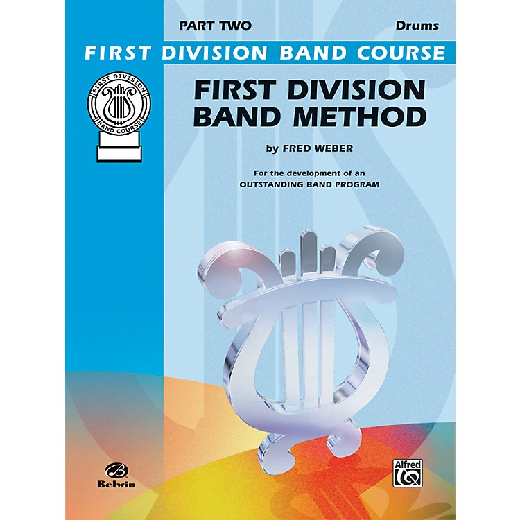 AlfredFirst Division Band Method Part 2 Drums