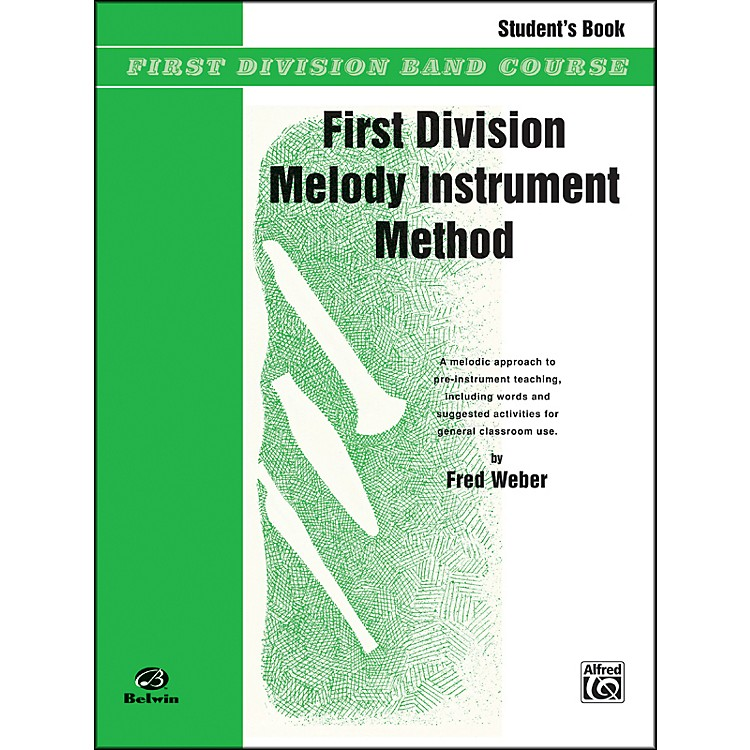 AlfredFirst Division Melody Instrument Method Student's Book
