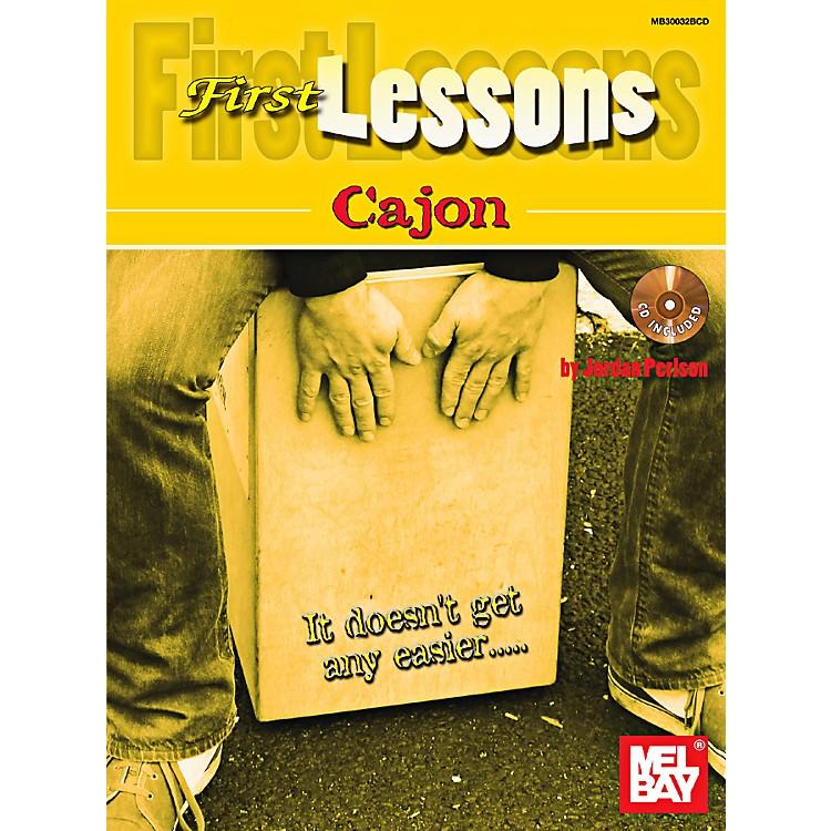 Mel BayFirst Lessons Cajons