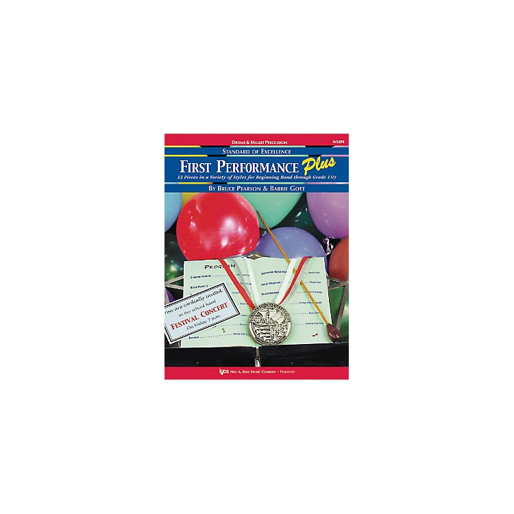 KJOSFirst Performance Plus Drums & Mallet Percussion Book