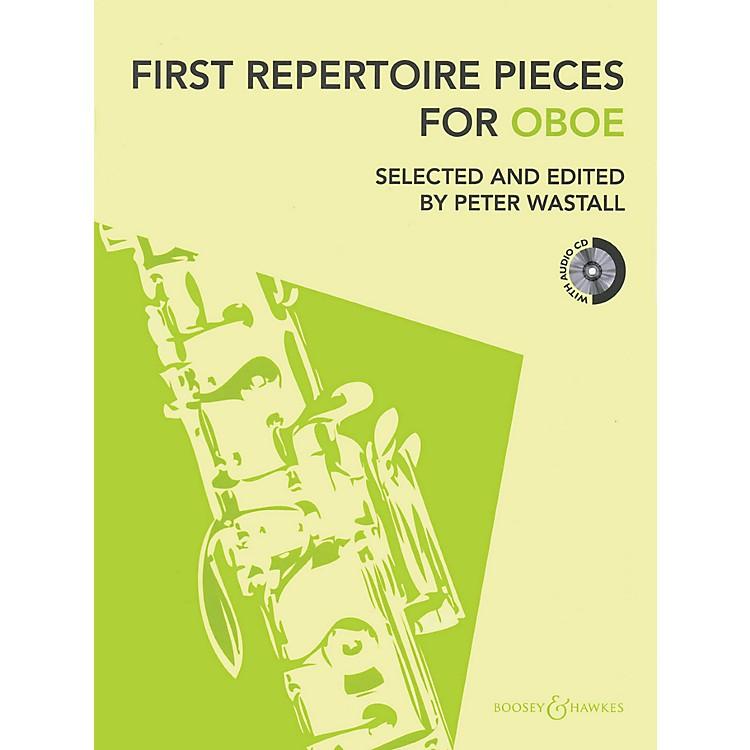 Hal LeonardFirst Repertoire Pieces For Oboe Book/CD Includes Piano Accompaniment