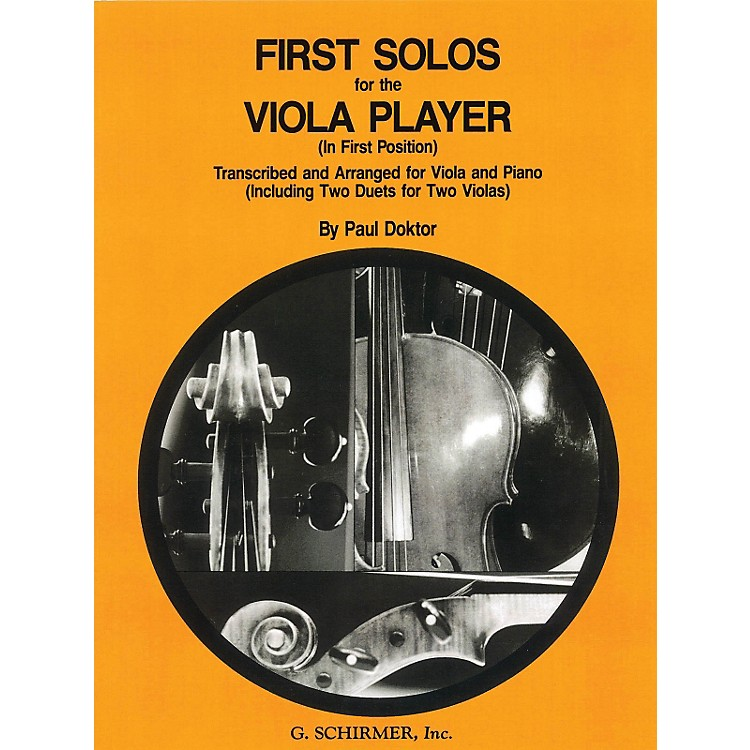 G. SchirmerFirst Solos for The Viola Player First Position