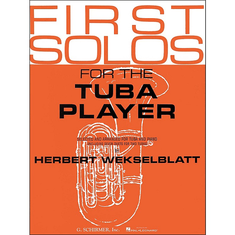 G. SchirmerFirst Solos for Tuba Player