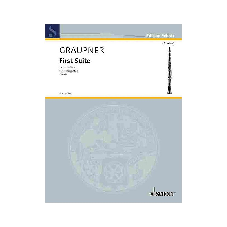 SchottFirst Suite Schott Series Composed by Johann Christoph Graupner Arranged by Edgar Hubert Hunt