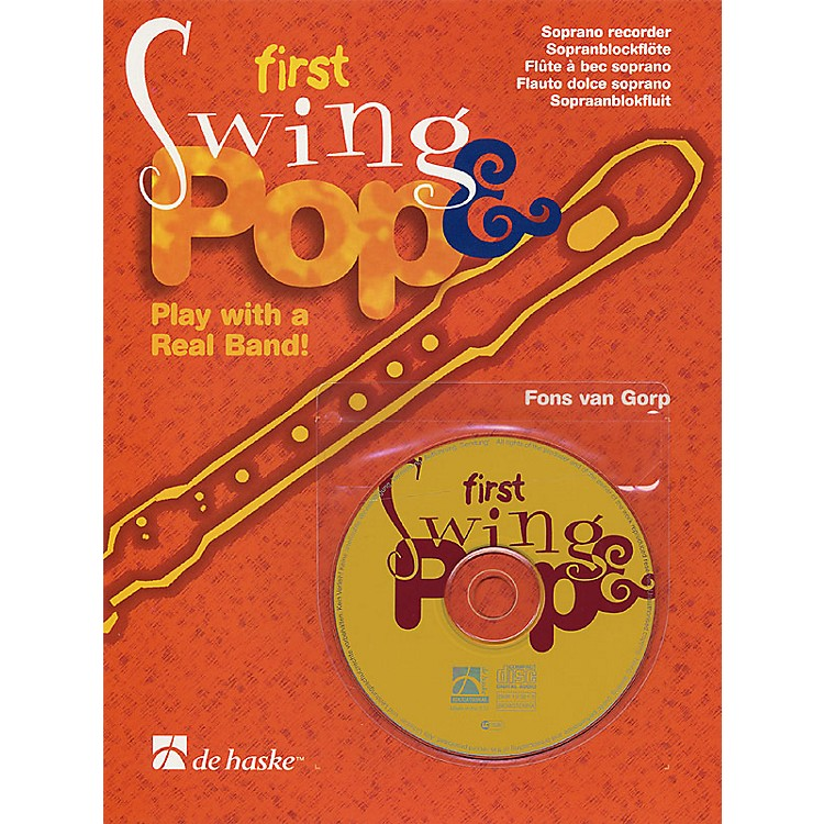 De Haske MusicFirst Swing & Pop (Play with a Real Band!) De Haske Play-Along Book Series