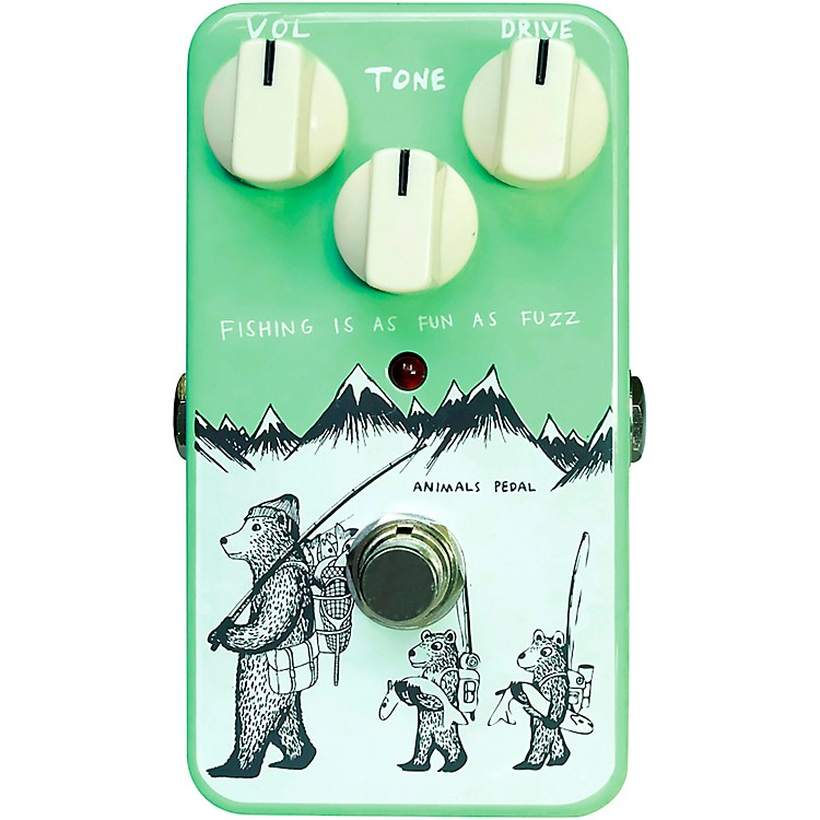 Animals PedalFishing Is As Fun As Fuzz Effects Pedal