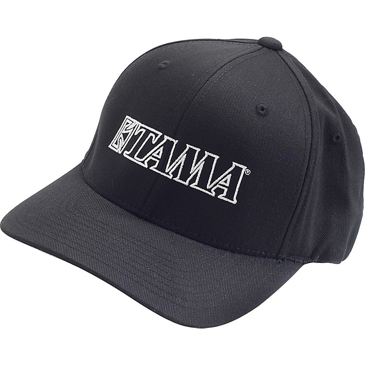 Tama Fitted Baseball Cap Black Large/Extra Large