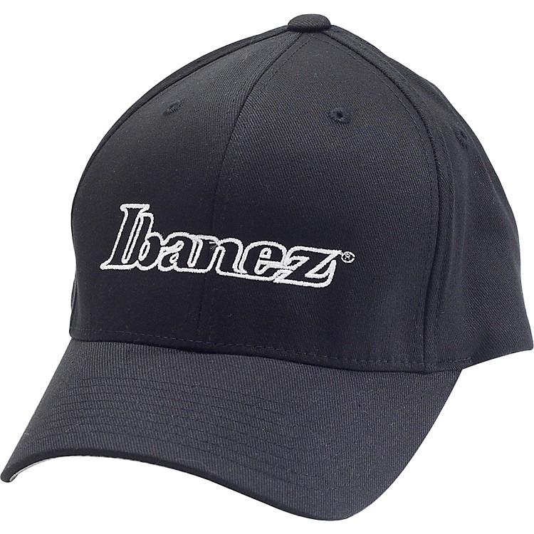 IbanezFitted Baseball CapBlackLarge/Extra Large