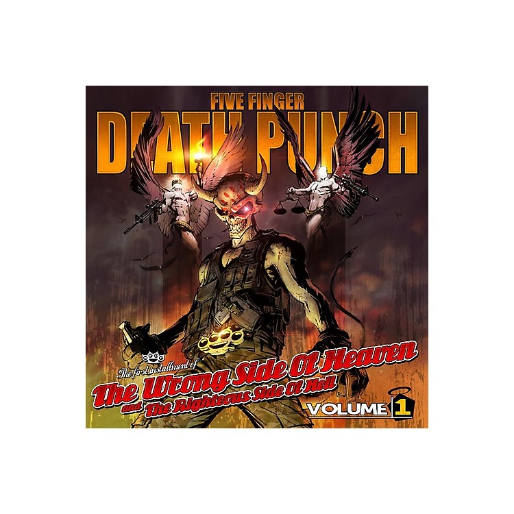 Alliance Five Finger Death Punch - The Wrong Side Of Heaven & The Righteous Side Of Hell, Vol. 1 (CD)