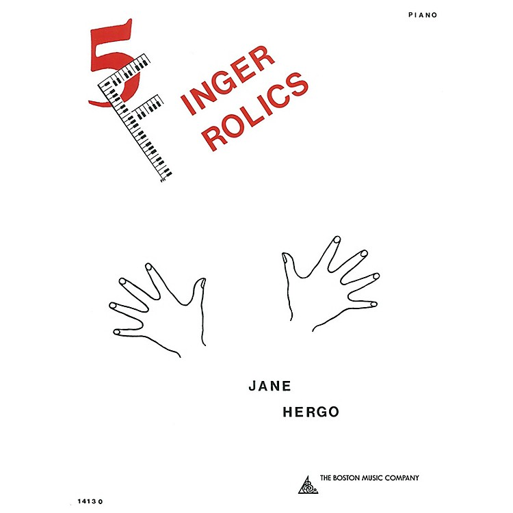 Music SalesFive Finger Frolics Music Sales America Series Softcover Composed by Jane Hergo