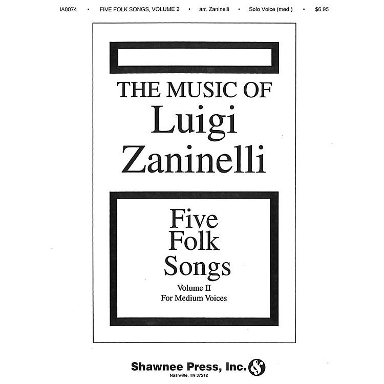 Shawnee PressFive Folk Songs II (Medium Voice)