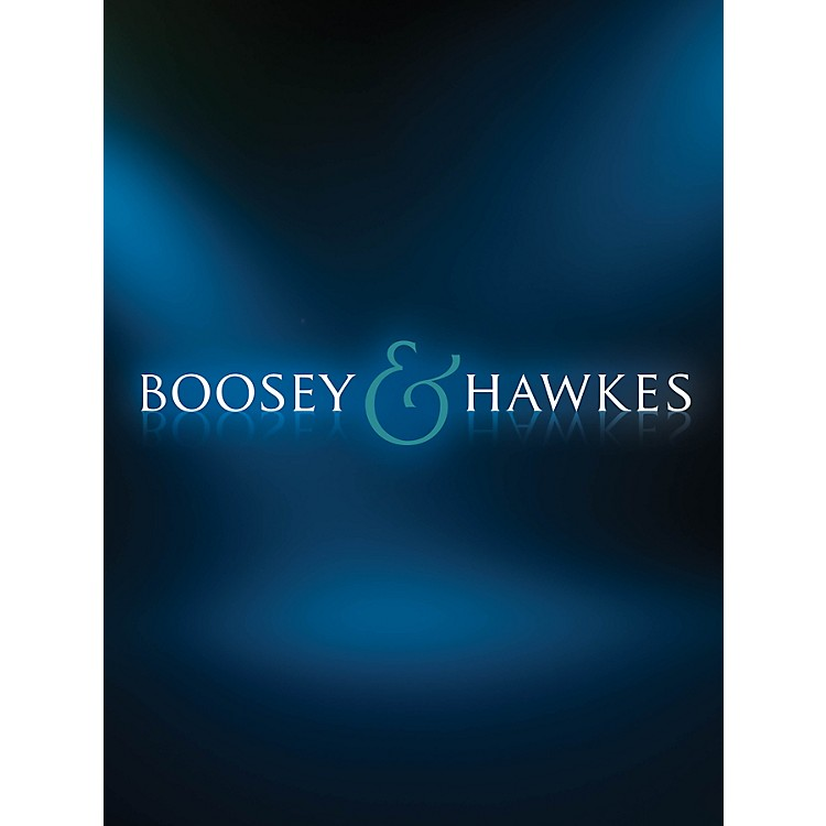 Boosey and HawkesFive Slovak Folksongs TTBB A Cappella Composed by Béla Bartók