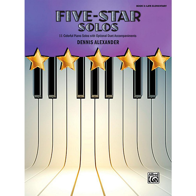 Alfred Five-Star Solos, Book 3 - Late Elementary
