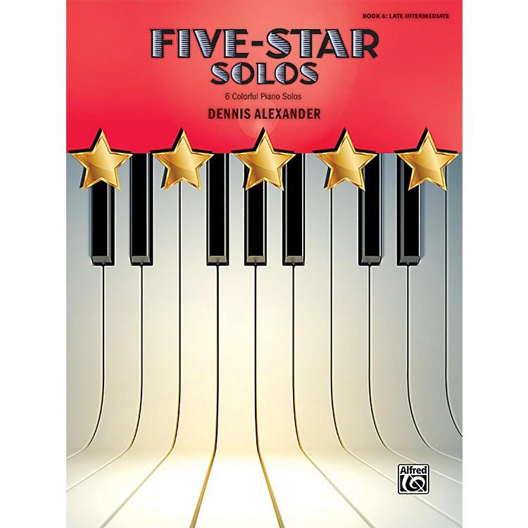 AlfredFive-Star Solos, Book 6 Late Intermediate