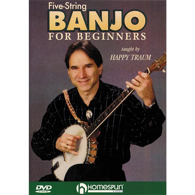 HomespunFive String Banjo for Beginners (DVD)