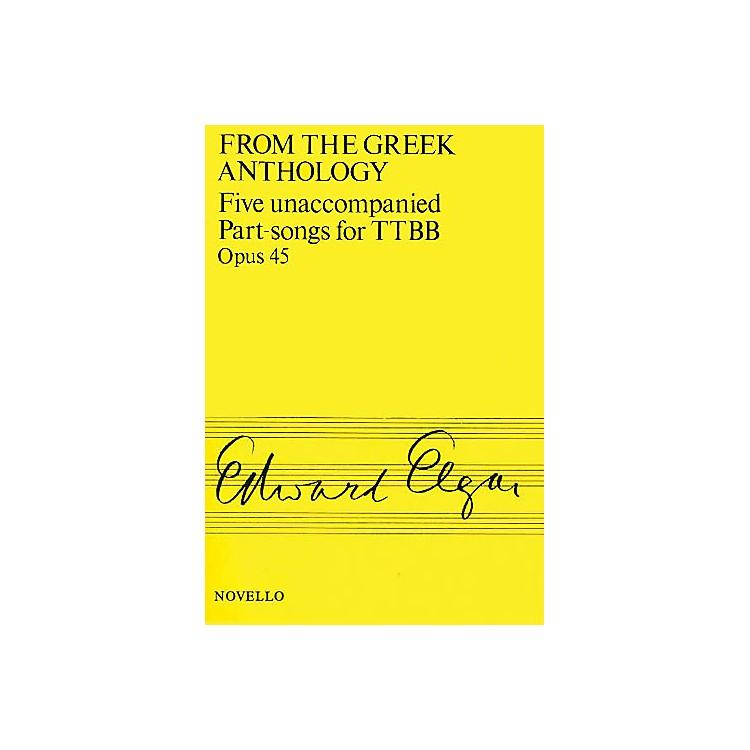 NovelloFive Unaccompanied Part-Songs for TTBB - Op. 45 TTBB A Cappella Composed by Edward Elgar