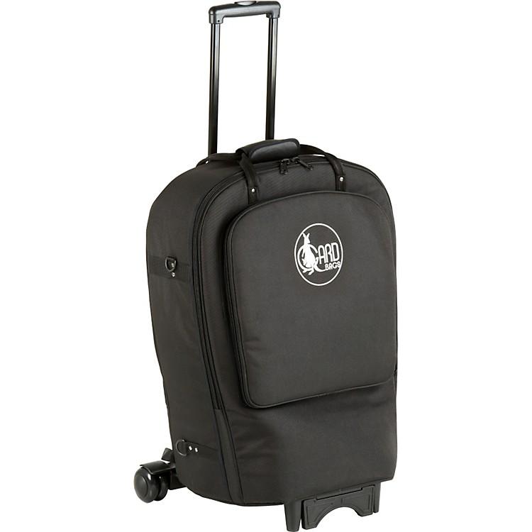 GardFixed Bell French Horn Wheelie Bag41-WBFLK BlackUltra Leather