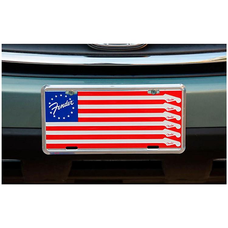 FenderFlag License Plate