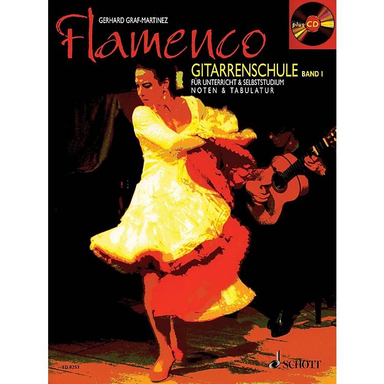 SchottFlamenco Gitarrenschule Band 1 (Book/CD Pack, German Language) Schott Series