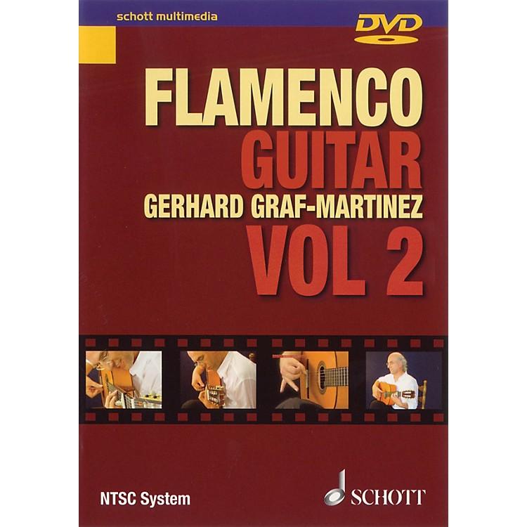 SchottFlamenco Guitar Vol. 2 Schott Series DVD Written by Gerhard Graf-Martinez