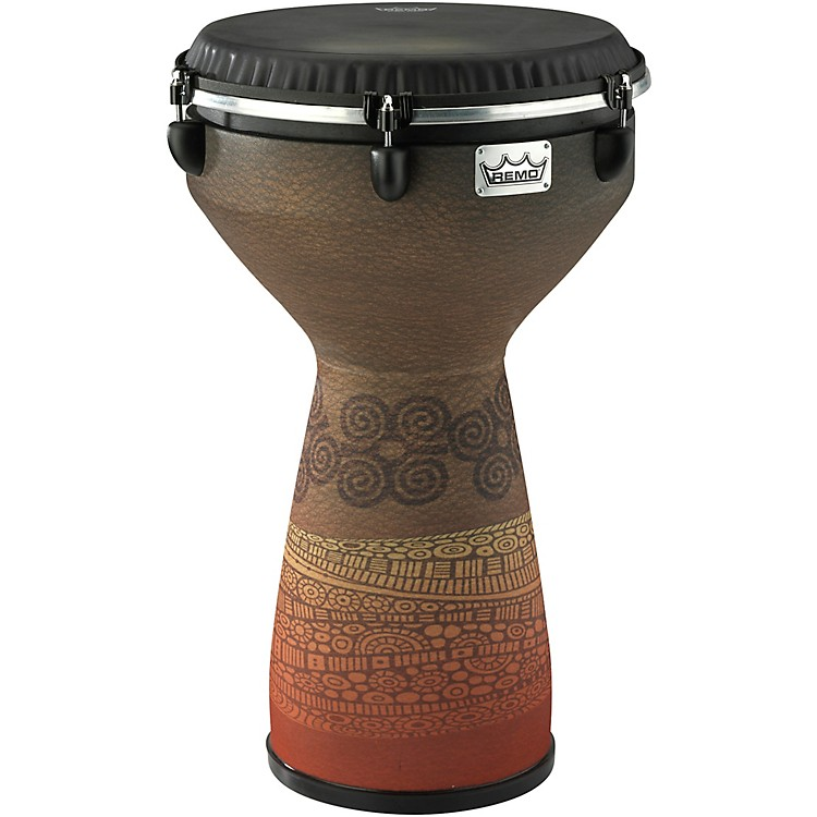 Remo Flareout Djembe Drum - Desert Brown, 13in 13 in. Desert Brown