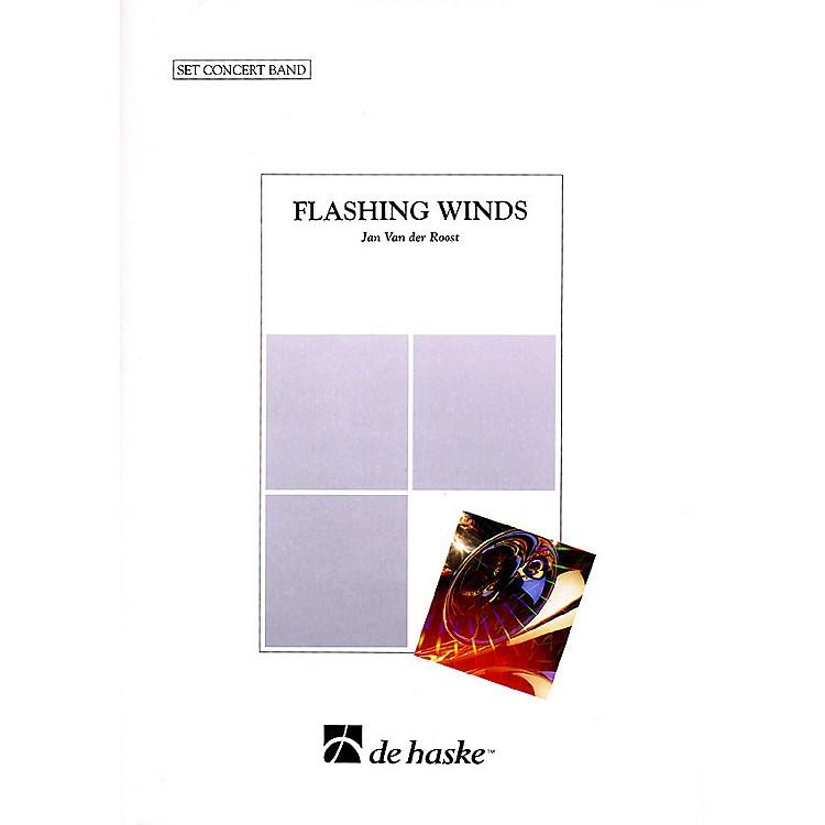 De Haske MusicFlashing Winds Concert Band Level 4 Composed by Jan Van der Roost