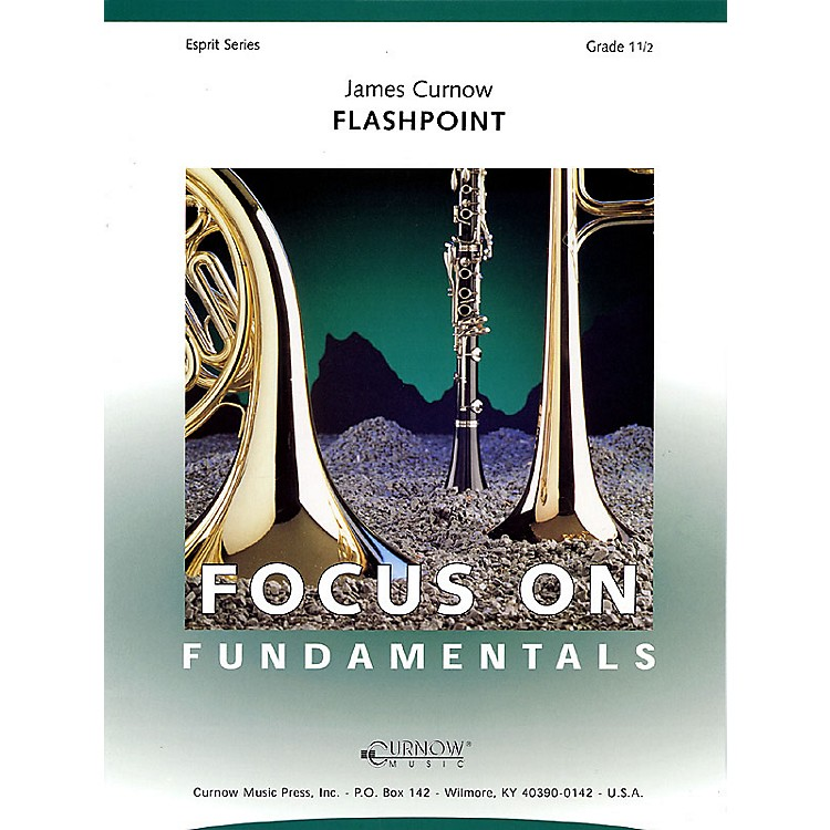Curnow MusicFlashpoint (Grade 1.5 - Score Only) Concert Band Level 1.5 Composed by James Curnow