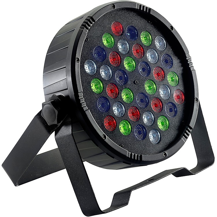 StaggFlat ECOPAR 36 RGBW LED Spotlight WashBlack