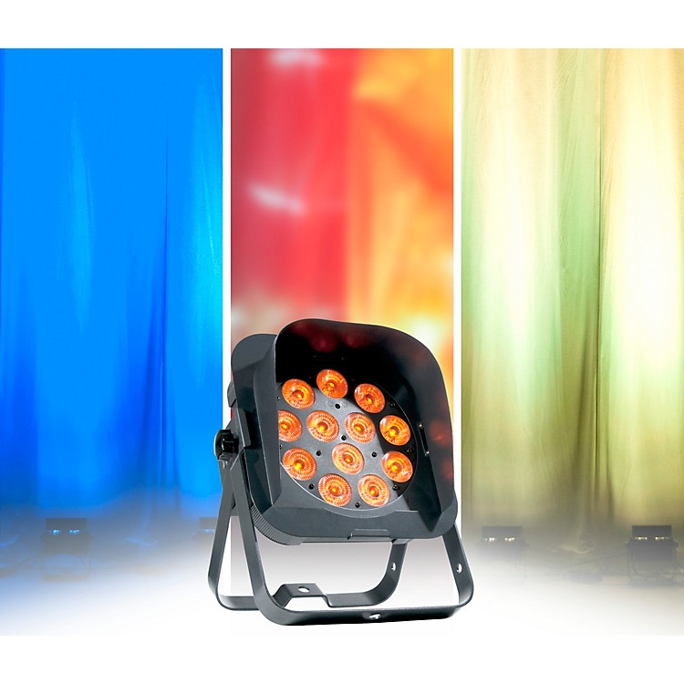 American DJFlat Par QA12XS RGBA LED Low Profile Wash Light