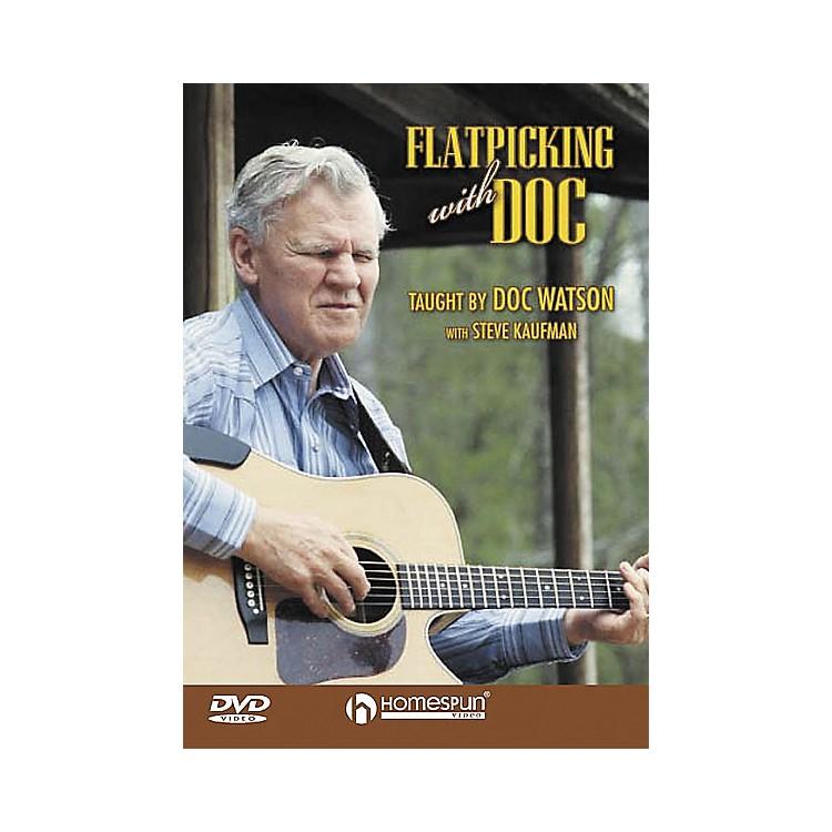 HomespunFlatpicking with Doc (DVD)